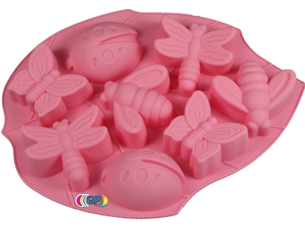 soap molds for soap decoration big Ladybug, Butterfly, Bee, Dragonfly