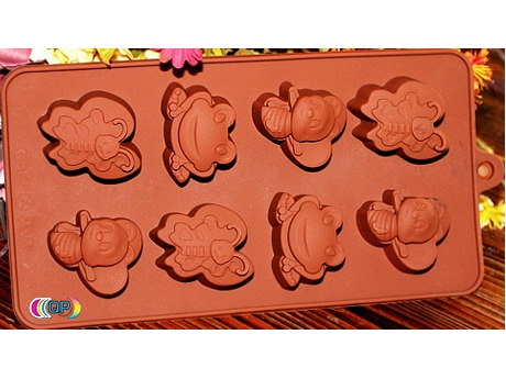 soap molds for soap Butterfly, Bee, Frog