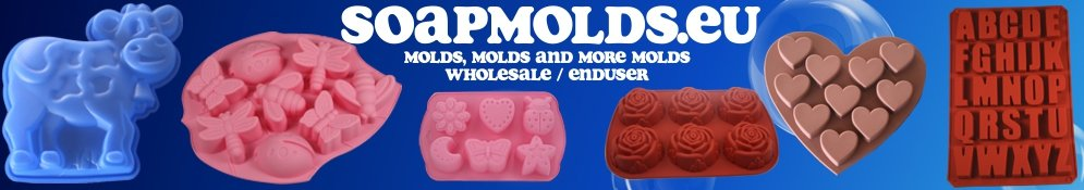 Molds for making soap