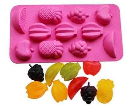 Soap molds fruitmix QP0051S