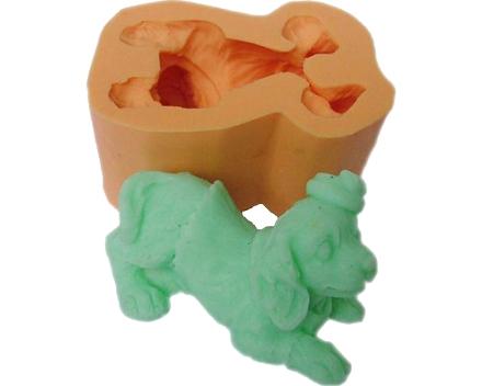 3D soap molds poodle QP0077s